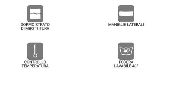 specifiche materasso