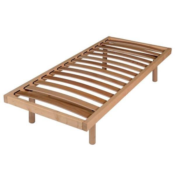 rete a doghe in legno massello